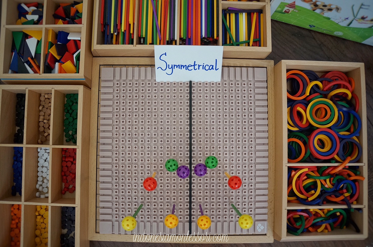 cara mengenalkan belajar simetri calistung anak