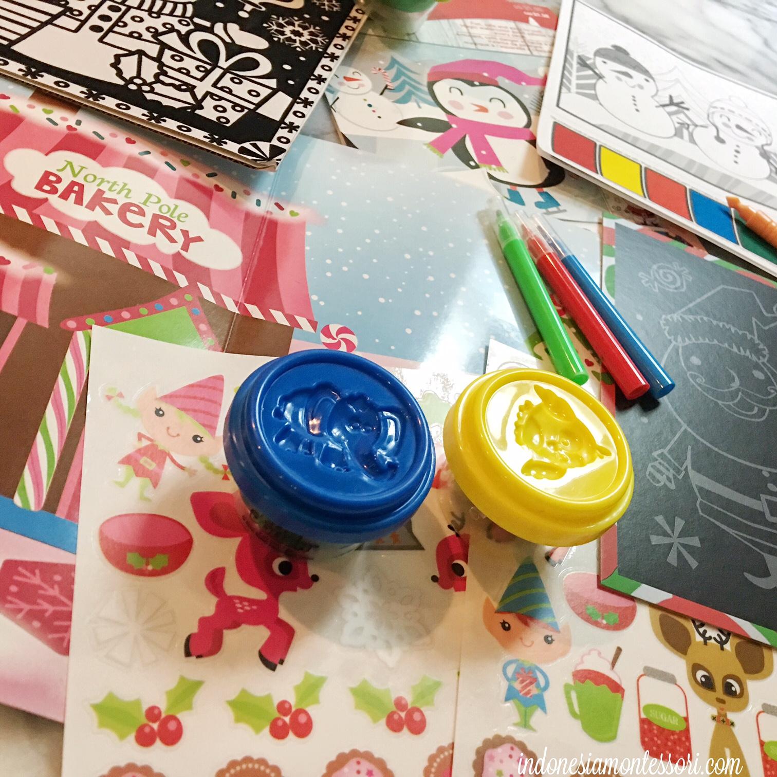 persiapan busy bag untuk anak