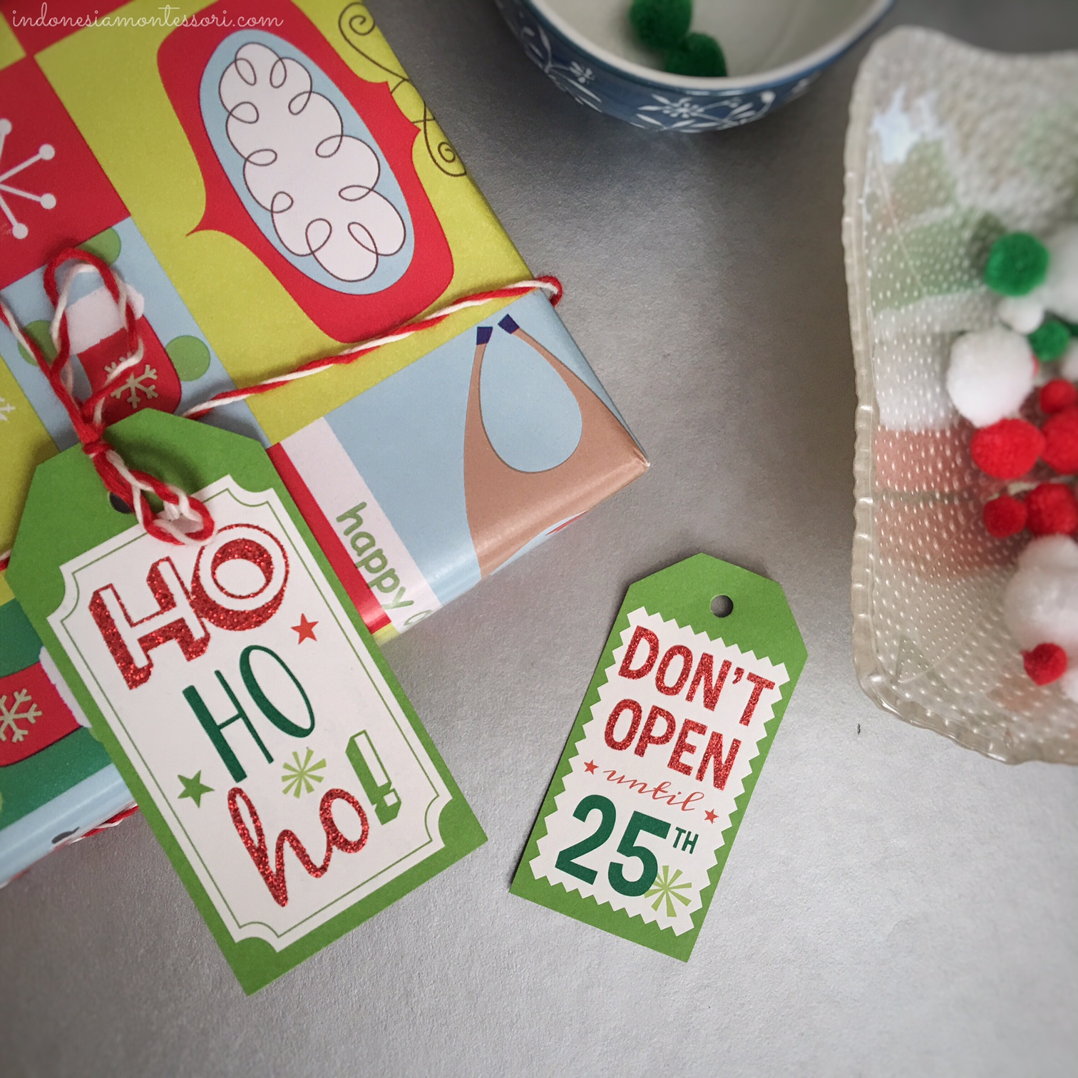 ide kegiatan motorik halus natal di rumah