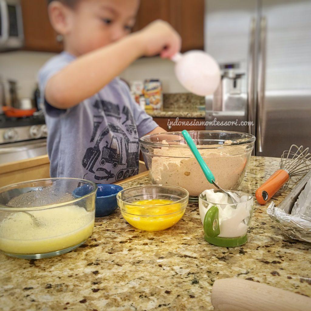 tips memasak bersama anak usia dini