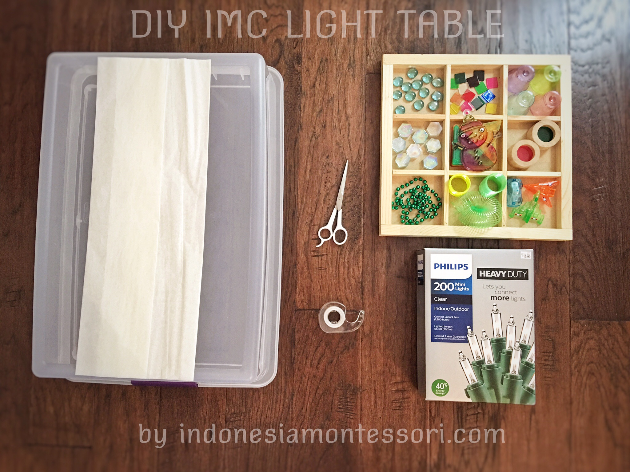 IMC DIY LIGHT TABLE