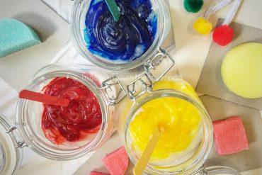 Resep DIY Paint Edible Aman untuk bayi
