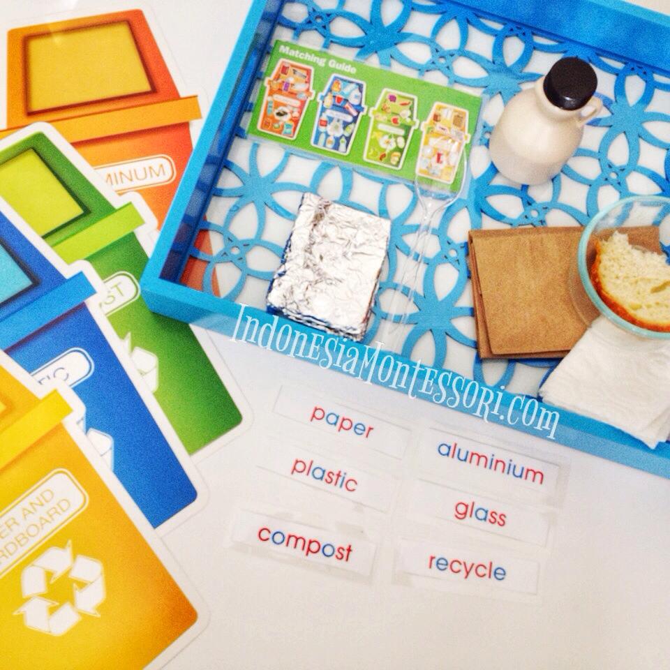 mengenalkan daur ulang untuk anak usia dini prasekolah