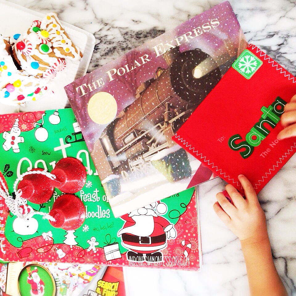 buku polar express christmas