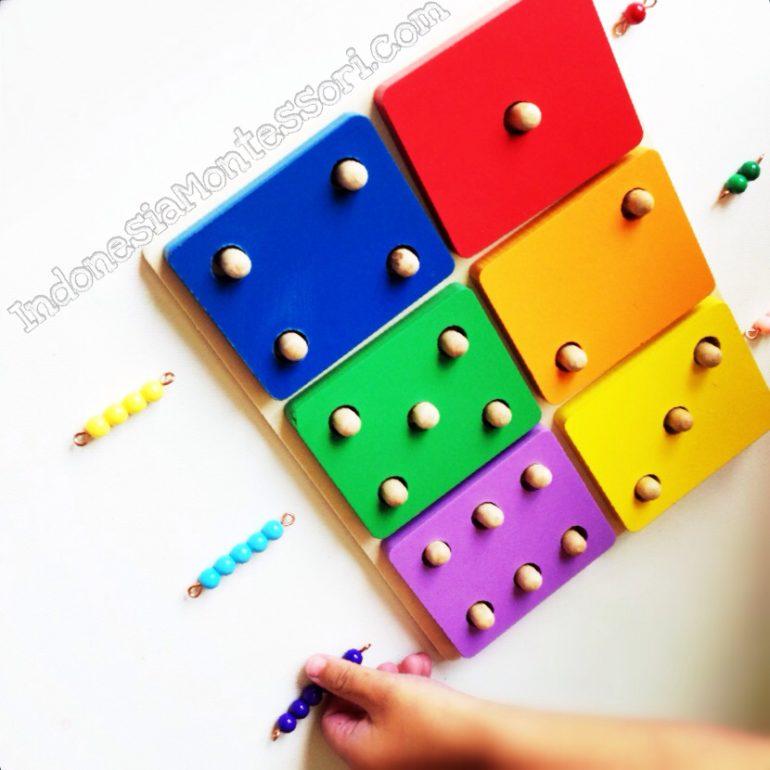 cara belajar calistung montessori prasekolah belajar berhitung
