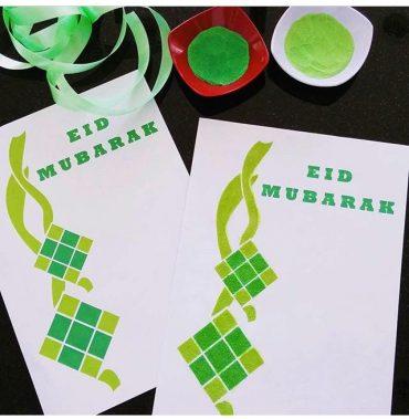 ide prakarya eid untuk si kecil prasekolah
