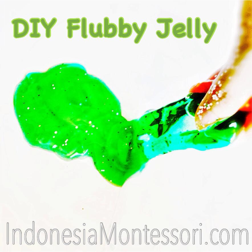 flubby jelly cara main untuk bayi