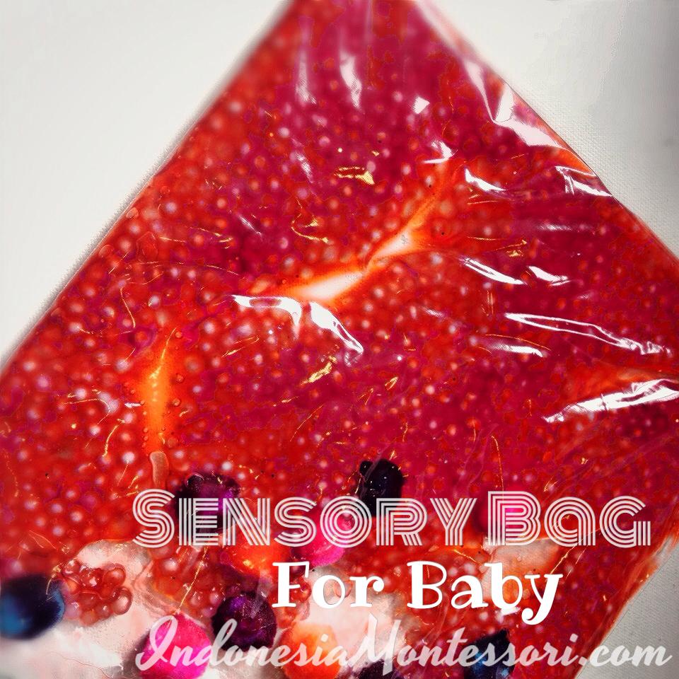 sensory bag untuk bayi