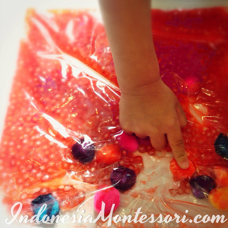 ide sensory play for baby