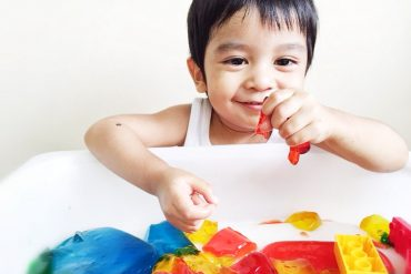 resep DIY flubby jelly indonesia montessori resep