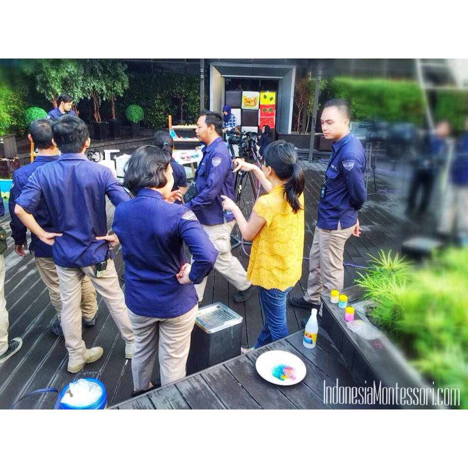 rekaman indonesiamontessori.com DIY toys di stasiun tv net tv mediatama kuningan jakarta selatan