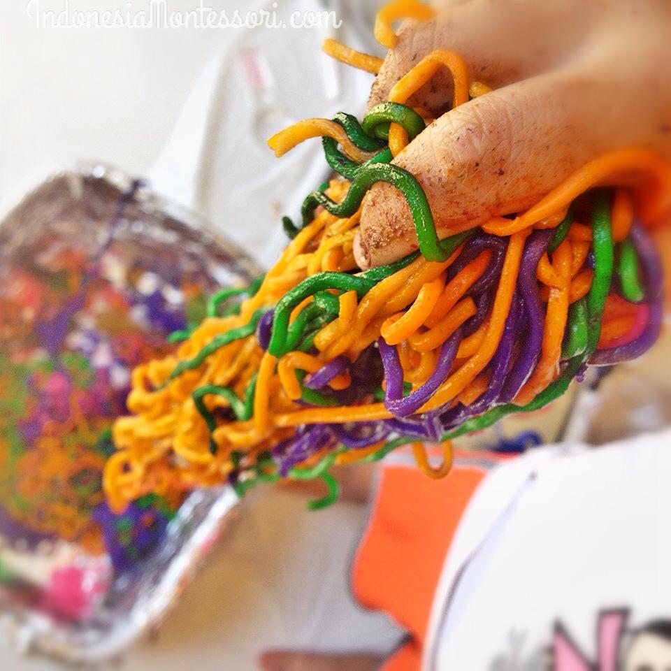 resep beras berwarna colored rice