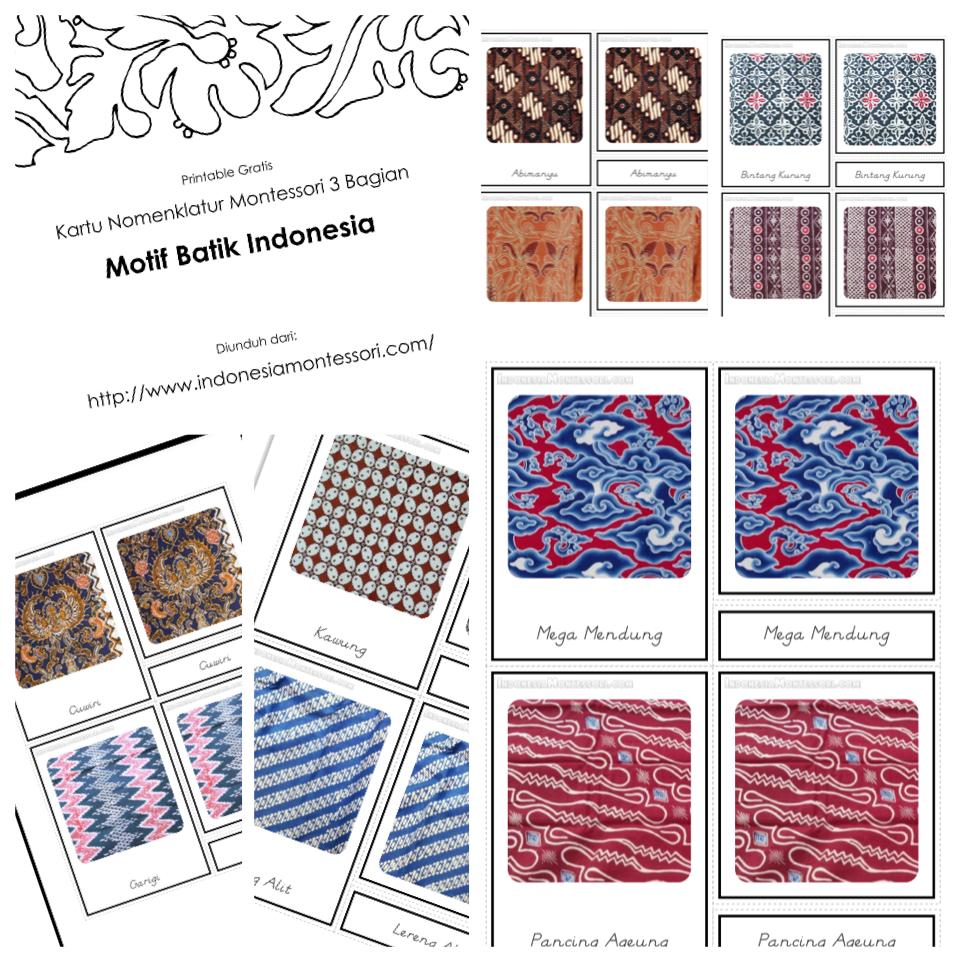 batik indonesia mengenalkan motif batik pada anak kebudayaan indonesia