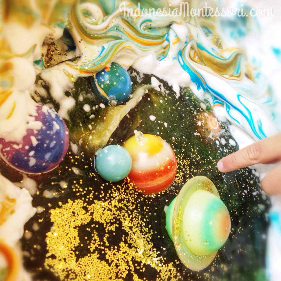 planet dan fase bulan anak usia dini