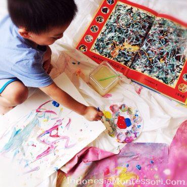 kegiatan seni anak prasekolah