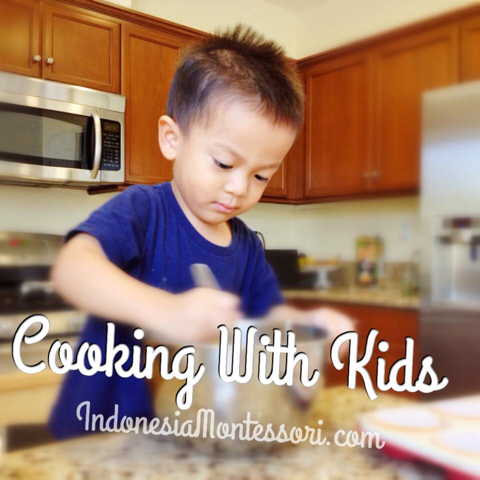 tips memasak bersama anak