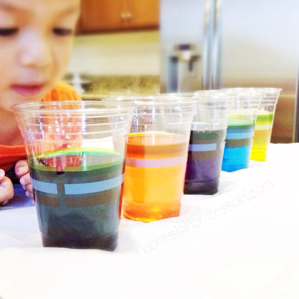 percobaan sains anak tk