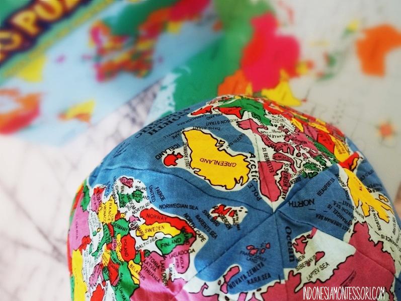 Alat Peraga Geografi Montessori