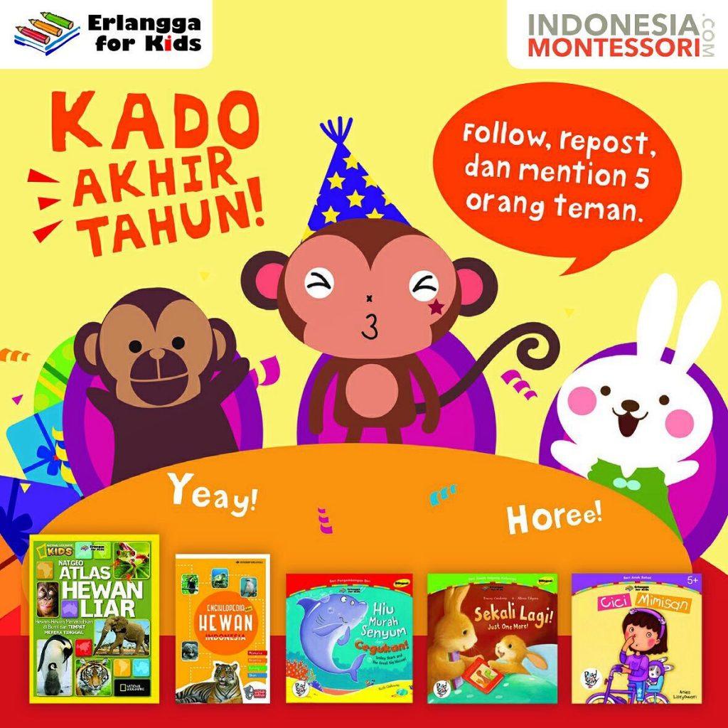 kado akhir tahun kuis erlangga book for kids