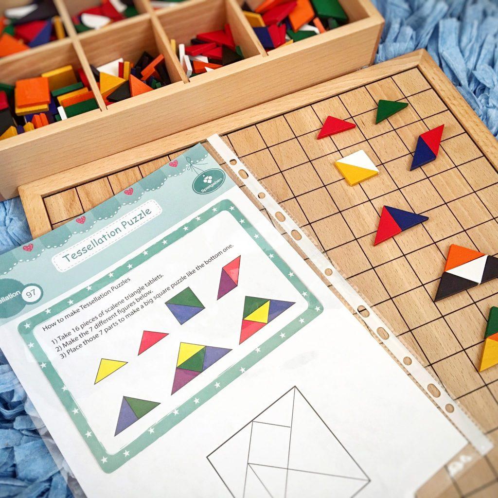 belajar tangram