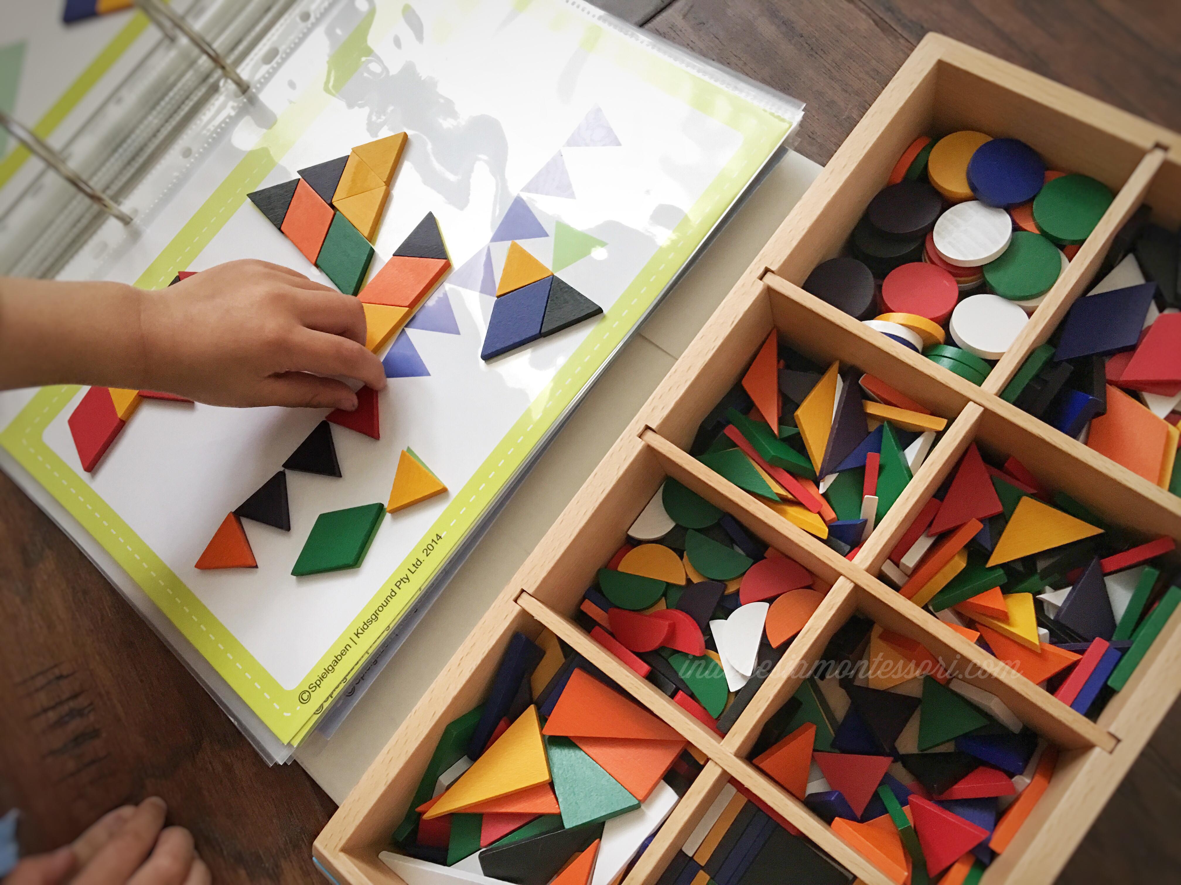 pengenalan bentuk geometri PAUD