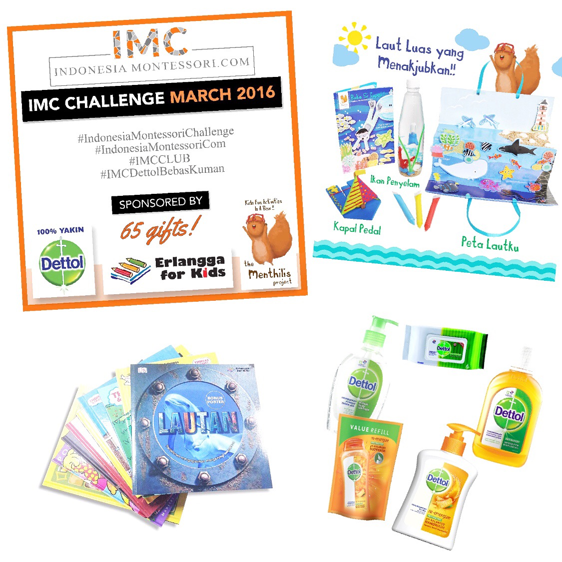 indonesia montessori challenge sponsor