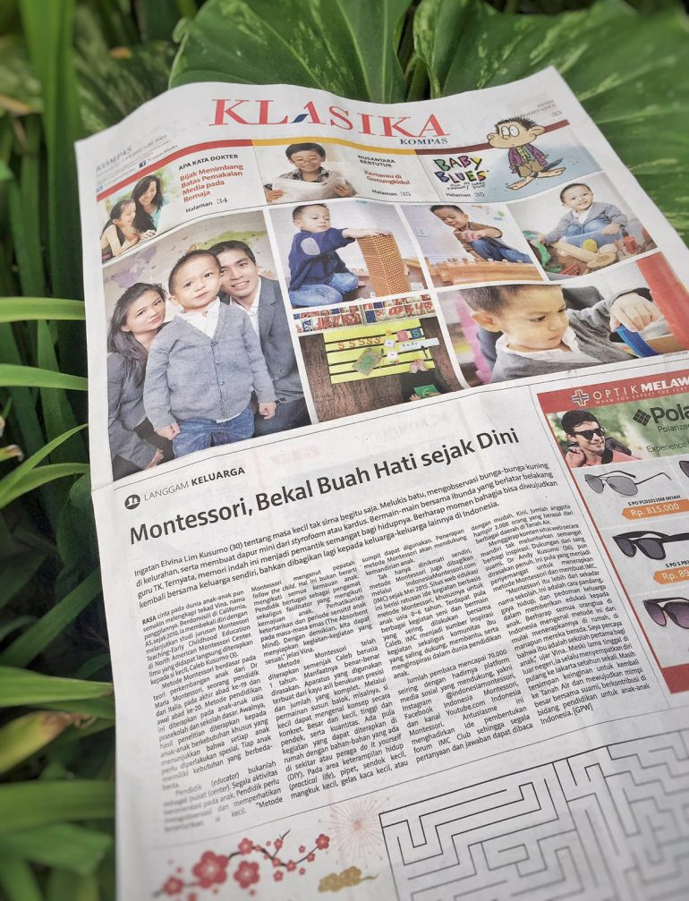 indonesiamontessori harian kompas langgam keluarga