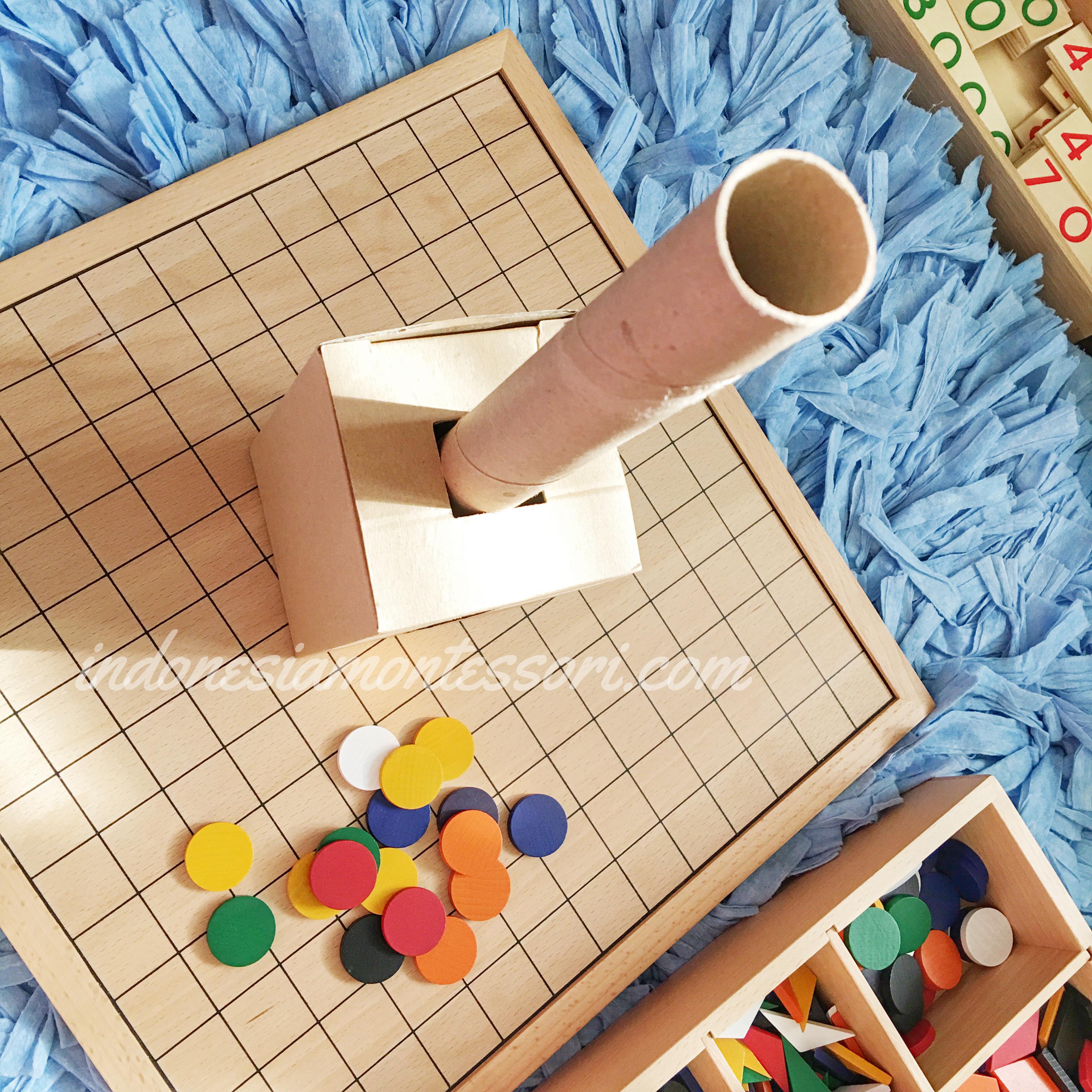 DIY Object Permanence IMC Imbucare Box Montessori
