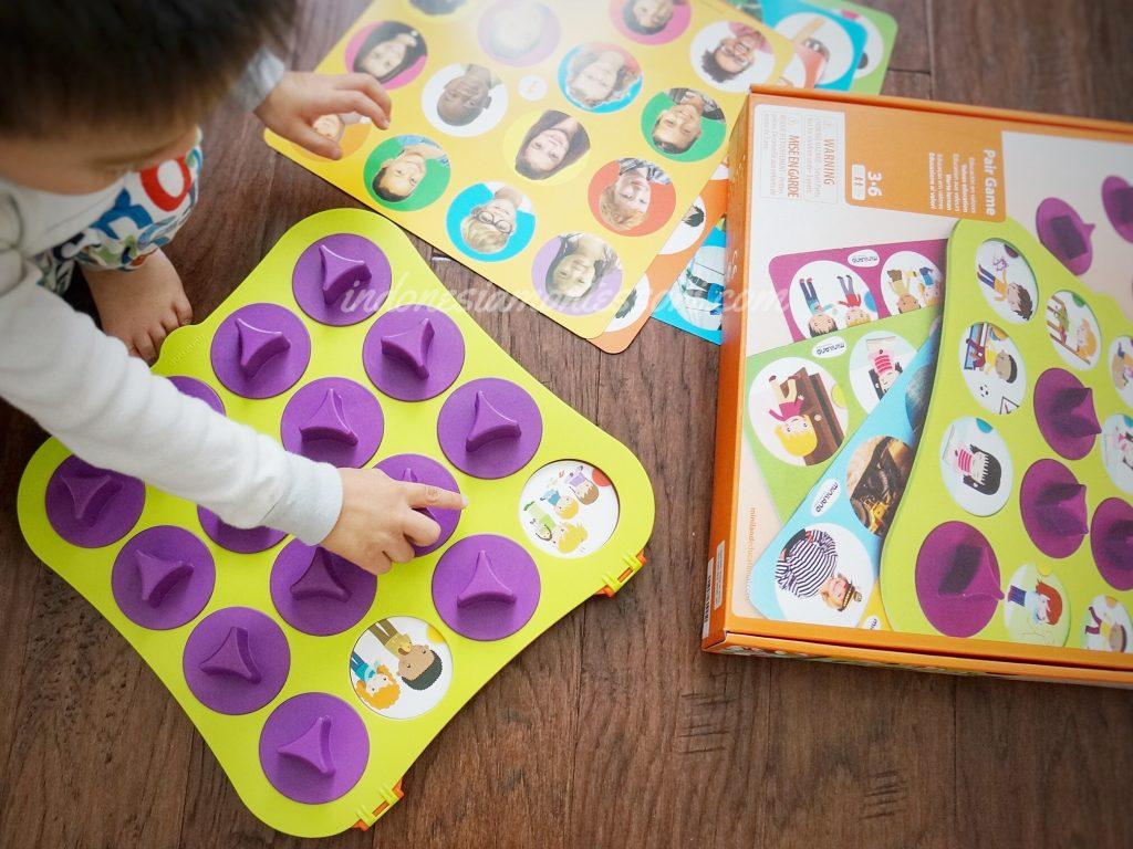 mini land educational spain pair game