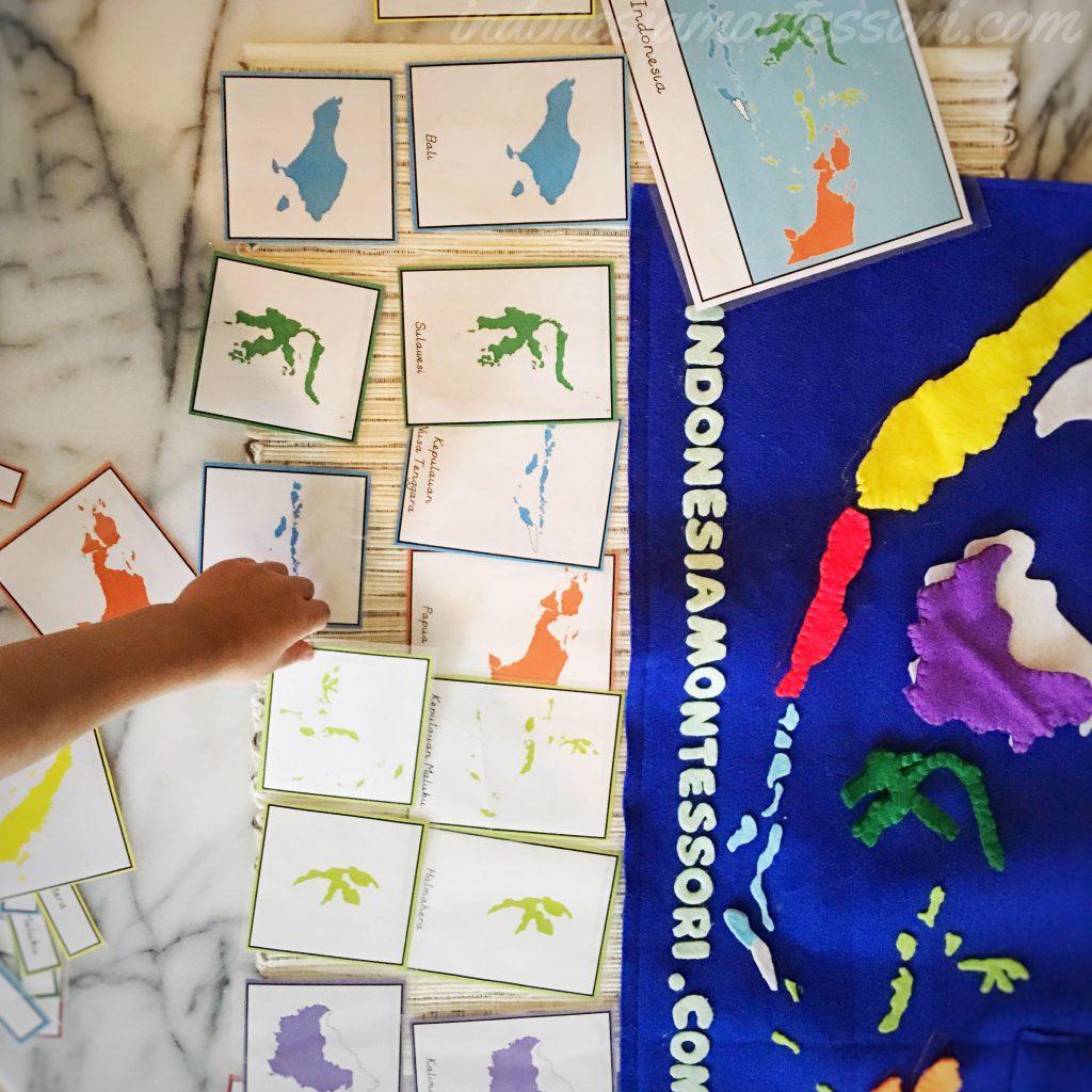 montessori di rumah geografi printable