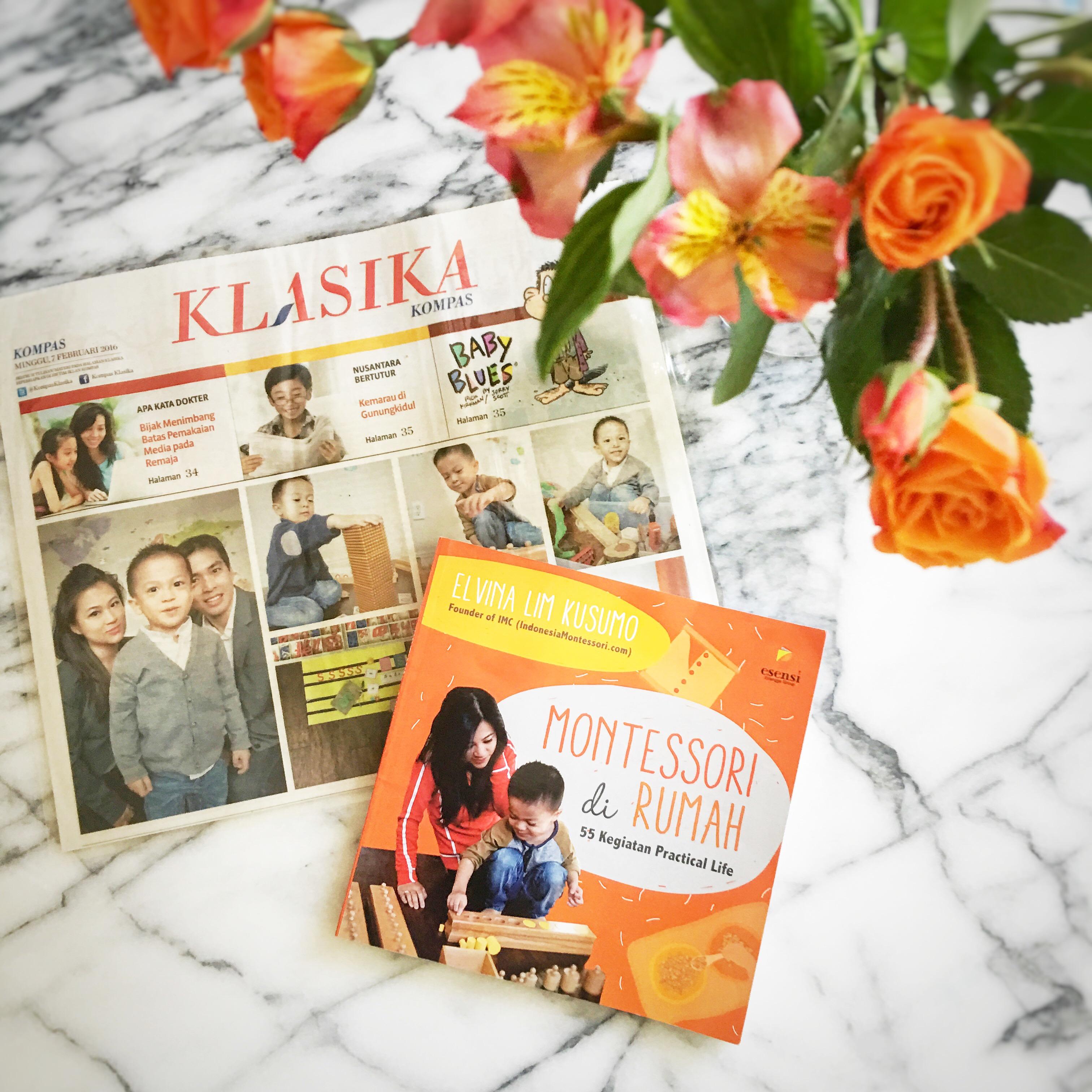 launching buku montessori di rumah elvina lim kusumo