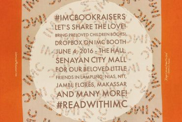 pengumpulan donasi buku IMC Bookraisers