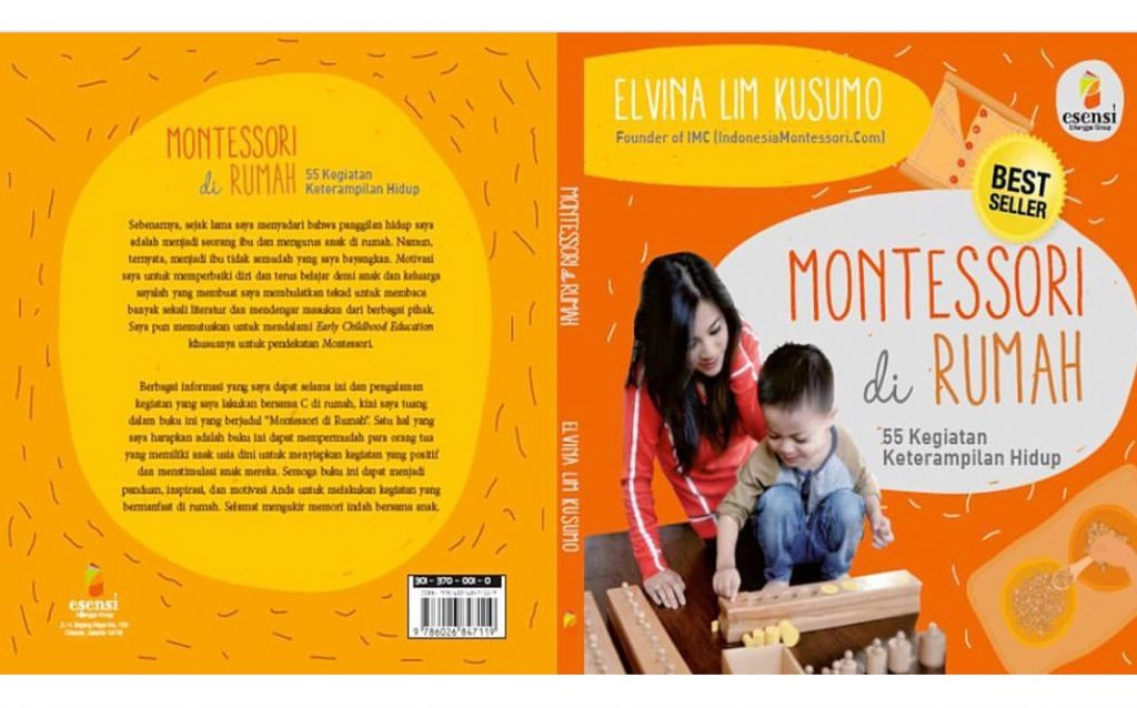 best seller buku montessori di rumah