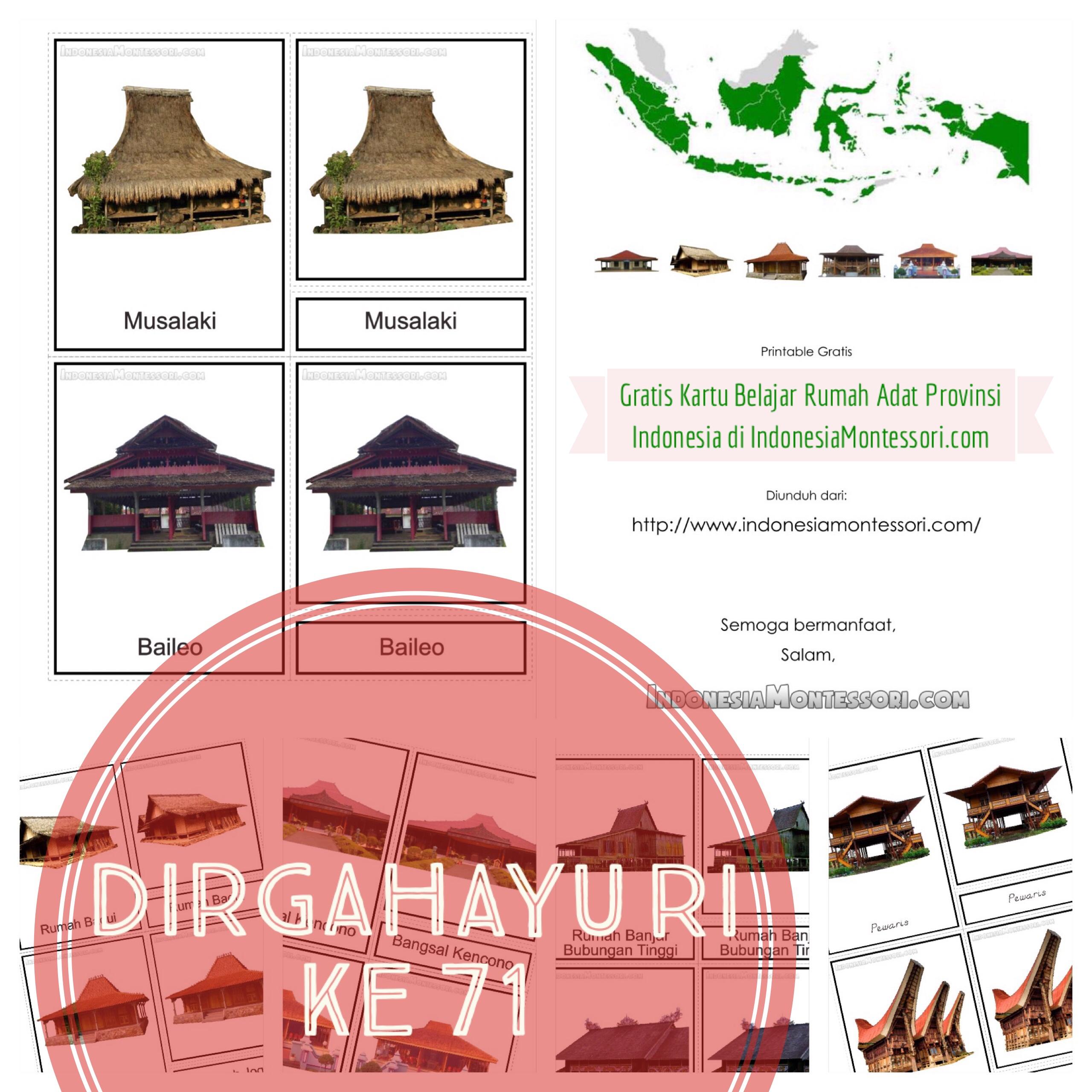 Hadiah 17 Agustus Dari Imc Gratis Printable Rumah Daerah Seluruh