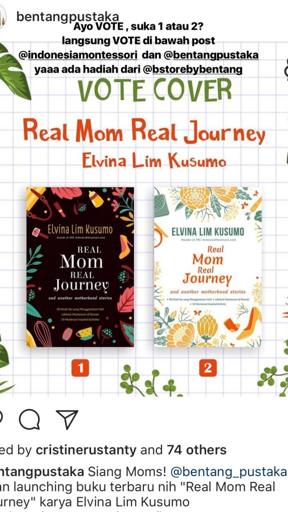 real mom real journey buku
