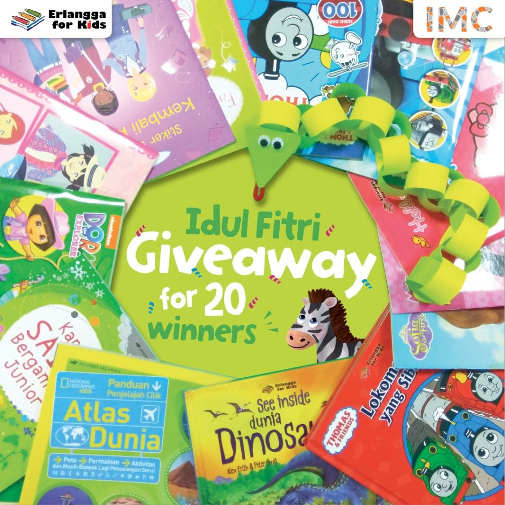 erlangga for kids book giveaway