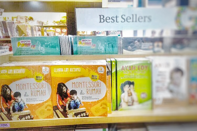 best seller montessori di rumah