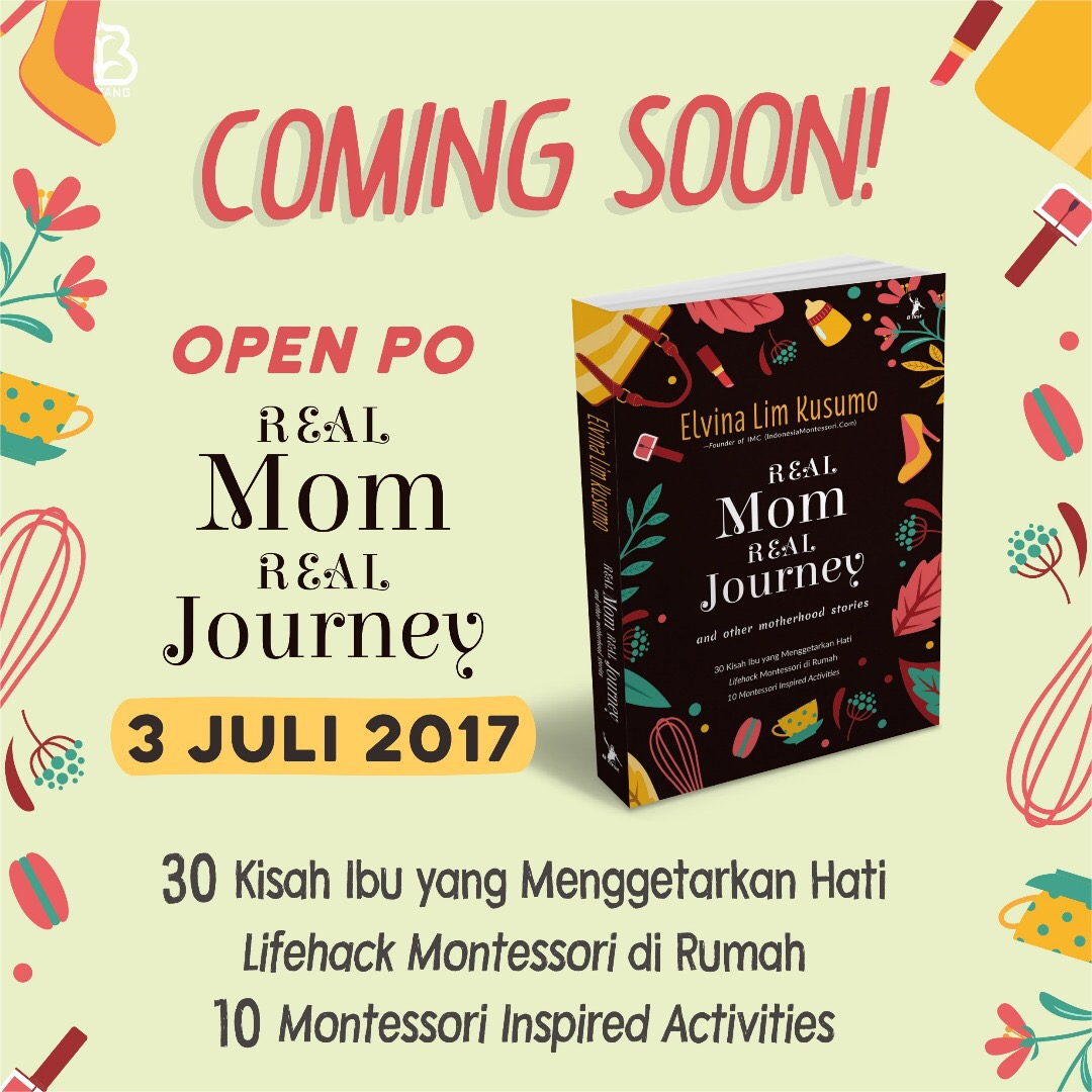 Buku Real Mom Real Journey Elvina Lim Kusumo