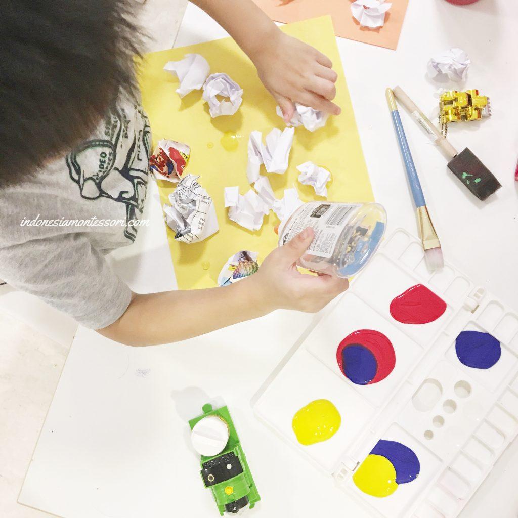 manfaat kegiatan seni anak tk