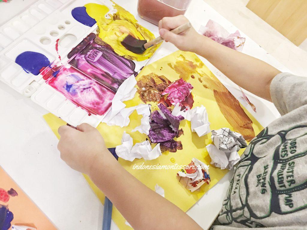 tip kegiatan seni di rumah