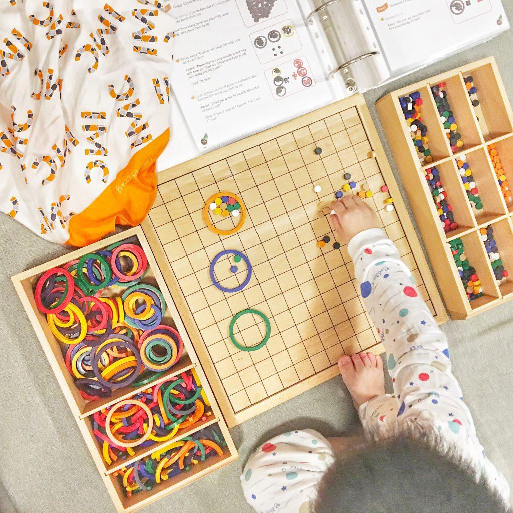 ide kegiatan montessori matematika sekolah dasar