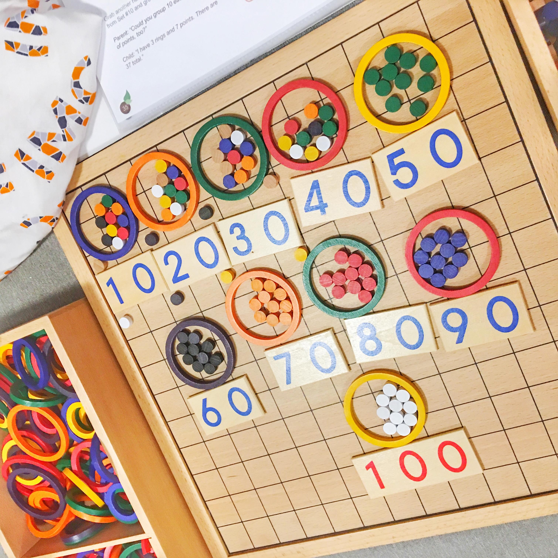 montessori spielgaben matematika indonesia