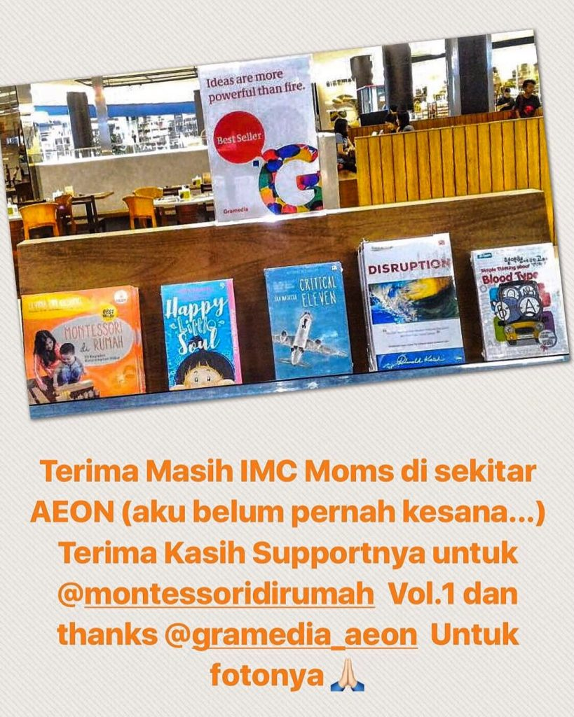 gramedia aeon best seller