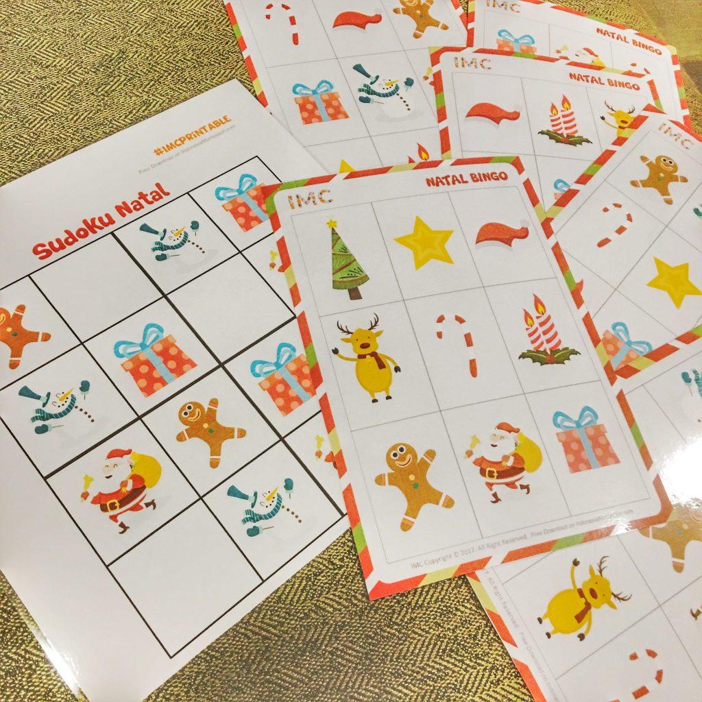 printable kegiatan natal