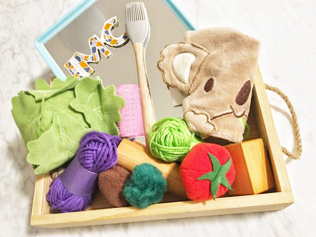kegiatan stimulasi bayi montessori